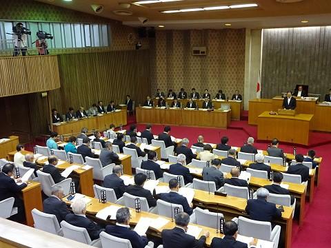 150910議会開会